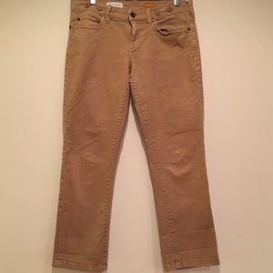 Anthropologie 28 Pilcro Low Rise Straight Jeans